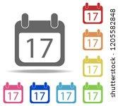 calendar icon. elements of...