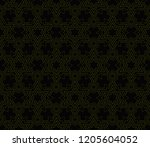 vector geometric seamless... | Shutterstock .eps vector #1205604052