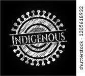 indigenous written on a...   Shutterstock .eps vector #1205618932