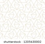 abstract geometric pattern with ... | Shutterstock .eps vector #1205630002