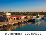 dock at robben island prison ... | Shutterstock . vector #120564172