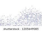 light blue vector texture in...   Shutterstock .eps vector #1205649085