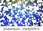 light blue  green vector...   Shutterstock .eps vector #1205650972