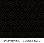 vector geometric seamless... | Shutterstock .eps vector #1205665612