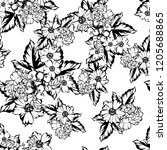 abstract elegance seamless...   Shutterstock . vector #1205688865