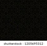 vector geometric seamless... | Shutterstock .eps vector #1205695312