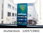 budapest  october 2018  ... | Shutterstock . vector #1205715802