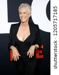 jamie lee curtis at the los... | Shutterstock . vector #1205717185