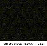 vector geometric seamless... | Shutterstock .eps vector #1205744212