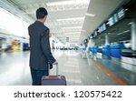 business man at airport | Shutterstock . vector #120575422