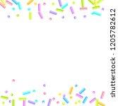 sprinkles grainy. sweet...   Shutterstock .eps vector #1205782612