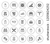 alcohol icon set. collection of ...   Shutterstock .eps vector #1205824252