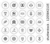 victory icon set. collection of ... | Shutterstock .eps vector #1205842135