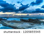 sensational sunrise seascape  ... | Shutterstock . vector #1205855545