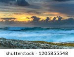 sensational sunrise seascape  ... | Shutterstock . vector #1205855548