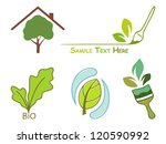 icons for wood protection | Shutterstock .eps vector #120590992