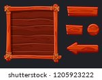 set red wood assets  interface...