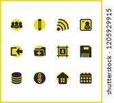 ui icons set with new folder ...