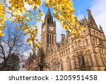 manchester   city in north west ...   Shutterstock . vector #1205951458