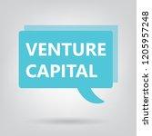 venture capital written on a... | Shutterstock .eps vector #1205957248