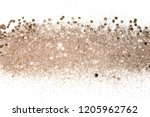 Rose gold glitter and...