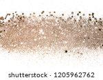 rose gold glitter and... | Shutterstock . vector #1205962762
