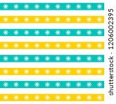 seamless vector pattern with... | Shutterstock .eps vector #1206002395
