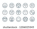 emotions related line icons....