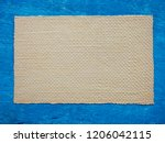 vintage old embossed paper as... | Shutterstock . vector #1206042115