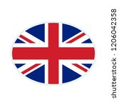 united kingdom flag. united... | Shutterstock .eps vector #1206042358