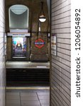 baker street  london  october... | Shutterstock . vector #1206054892