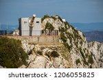gibraltar  united kingdom  1st... | Shutterstock . vector #1206055825