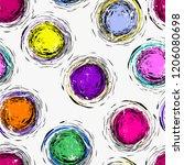 seamless background pattern ...   Shutterstock .eps vector #1206080698