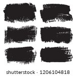 grunge banners.vector grunge... | Shutterstock .eps vector #1206104818