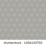 vector geometric seamless... | Shutterstock .eps vector #1206133702