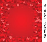 valentine background | Shutterstock .eps vector #120618346
