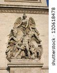 arc de triomphe  paris france | Shutterstock . vector #120618478