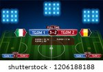 full time extra time and half... | Shutterstock .eps vector #1206188188