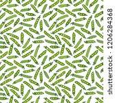 seamless endless pattern of... | Shutterstock .eps vector #1206284368