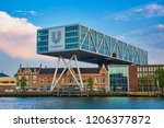 rotterdam  netherlands   may 11 ... | Shutterstock . vector #1206377872
