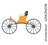 berlin  carriage  cart  coach  ... | Shutterstock .eps vector #1206396058