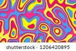 abstract color cover. drop...   Shutterstock . vector #1206420895