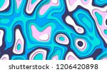 abstract color cover. drop...   Shutterstock . vector #1206420898