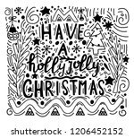 doodle style illustration with...   Shutterstock .eps vector #1206452152
