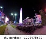 buenos aires  argentina  ... | Shutterstock . vector #1206475672