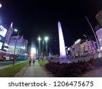 buenos aires  argentina  ... | Shutterstock . vector #1206475675