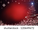 red abstract background with... | Shutterstock . vector #120649672