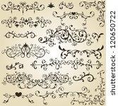 vector vintage floral  design...