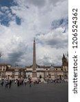 roma lazio italia  05 09 2017  ... | Shutterstock . vector #1206524362