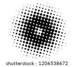 abstract futuristic halftone... | Shutterstock .eps vector #1206538672